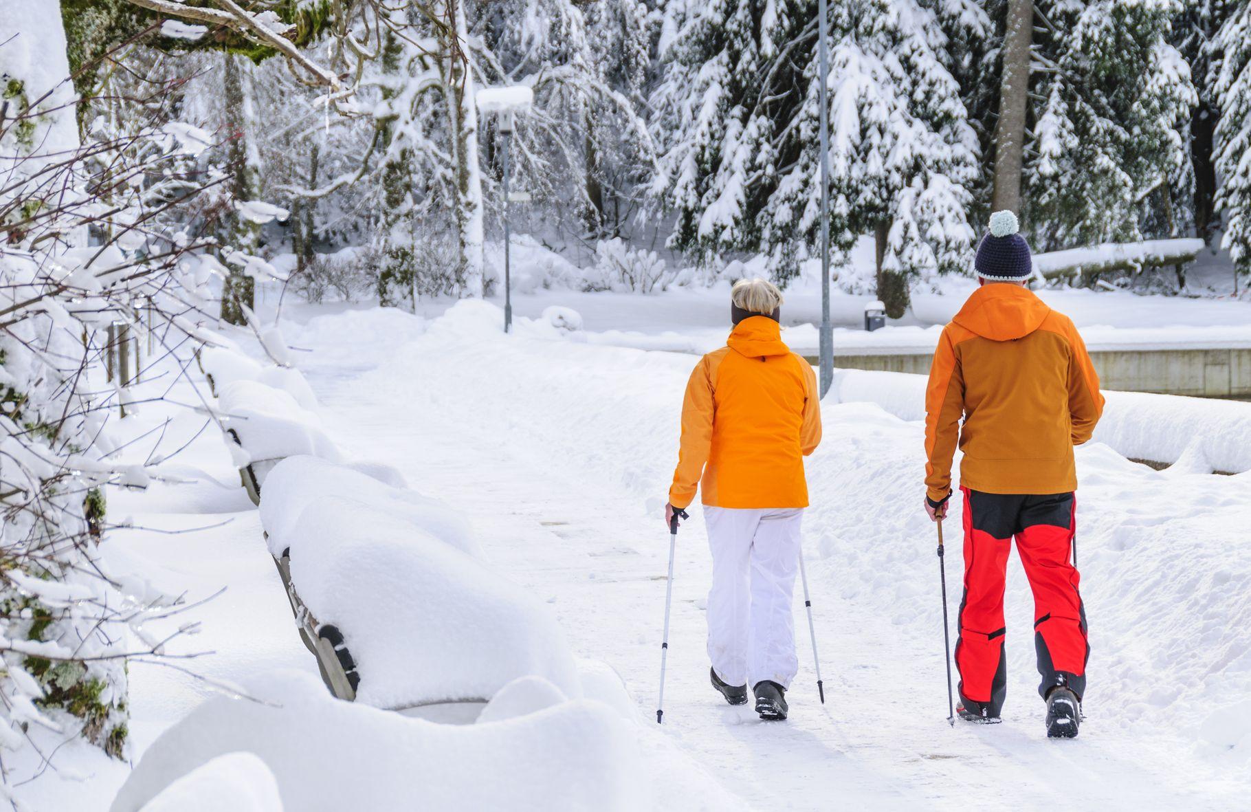 Fit bei Eis und Schnee
