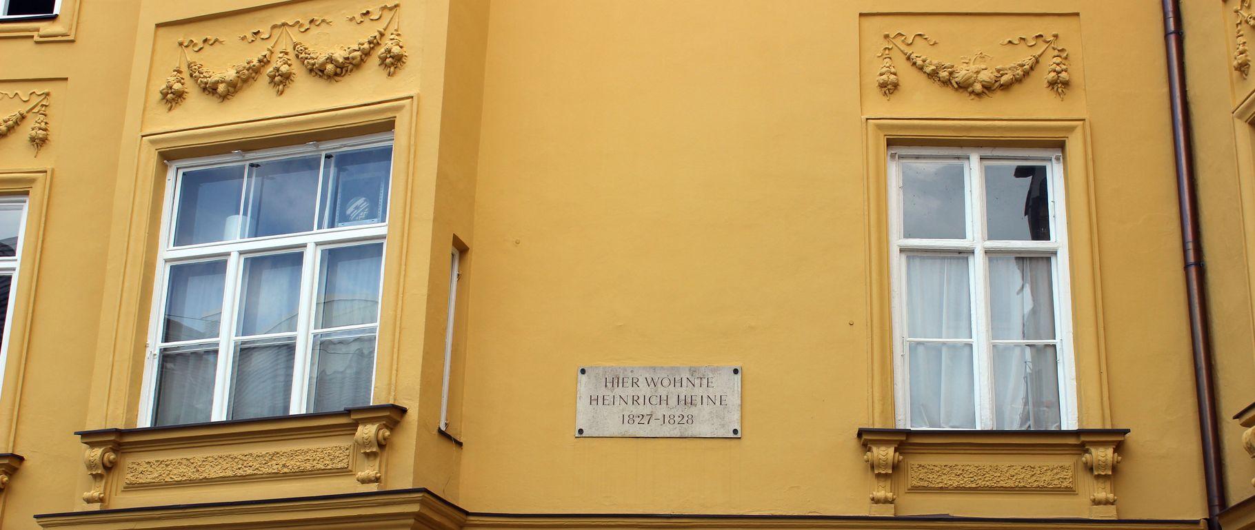 Zum Entdecken: Heinrich Heine in München